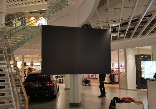 Storskjerm LED skjerm vinterbro kjøpesenter tobemore